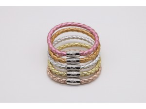Metallic Braid Bracelets