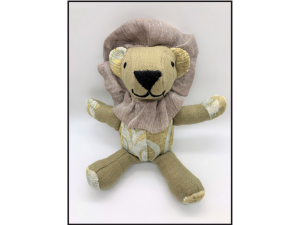 James - Medium Stuffed Lion