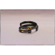 The Bracelet - Black Rhodium with 24K Ribbon