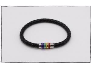 Rainbow Tube Bracelet