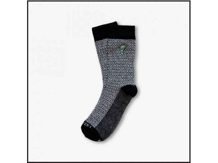 Hippy Feet Socks Black Diamond