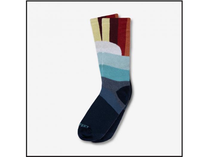 Hippy Feet Socks Sunset Lover