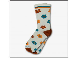 Hippy Feet Socks Bee Ink Florals