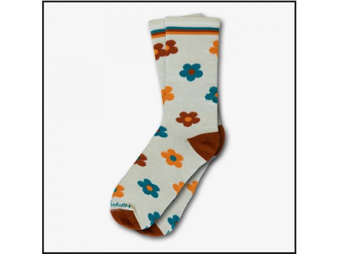 Hippy Feet Socks Bee Ink Florals