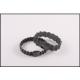 Wave Bracelet (Graphite Tone)