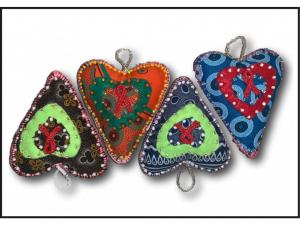 AIDS Loving Heart Ornament