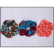 Handmade Scrunchie: Set of 3
