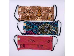 Handmade Masks: Set of 3