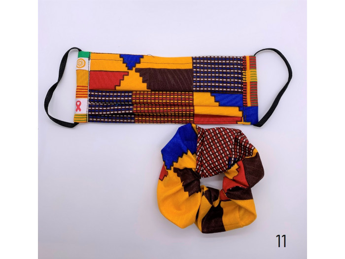 Matching Scrunchie and Mask Set