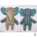 Elliot - Flat Stuffed Elephant