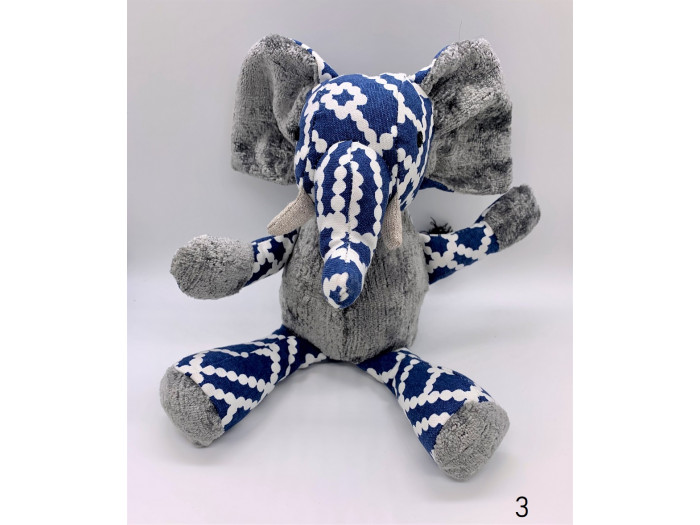 Emma - Medium Stuffed Elephant