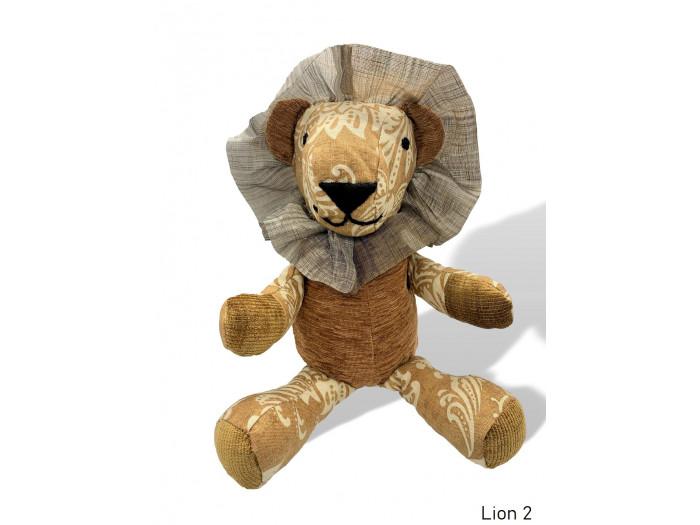 Charlie - Large Stuffed Lion