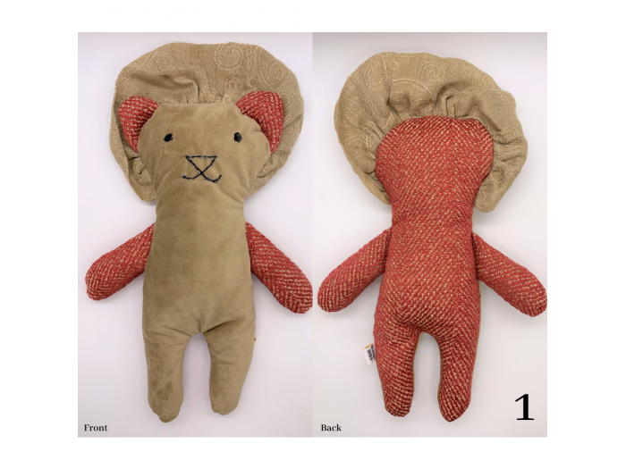 Owen - Flat Stuffed Lion