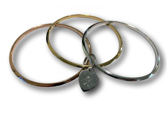 Hope, Love, Cure Bangles